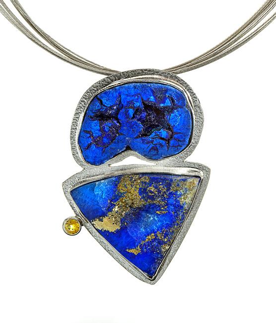 Azurite Lapis Sapphire