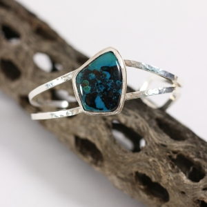 Chrysocolla Stone Bracelet