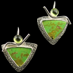 Green Hurrah Earrings