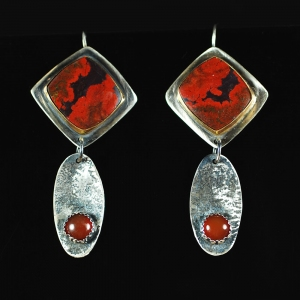 Lava Flow Earrings