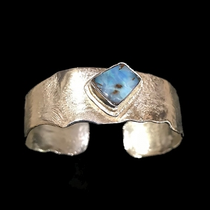 Reticulated Sterling Silver Bracelet