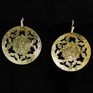 Iron Butterfly Earrings
