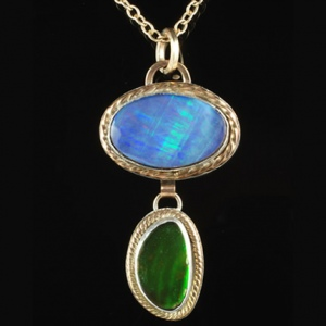 Green Lights Pendant