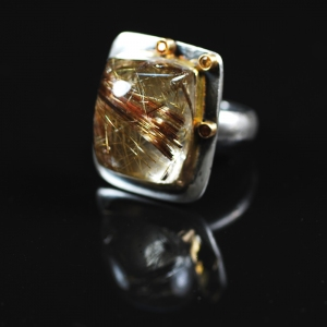 Gold Inclusions Ring