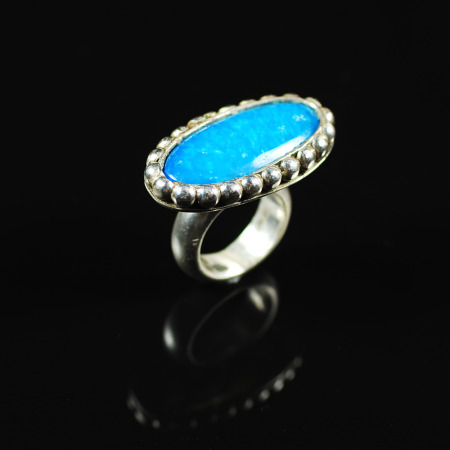 Turquoise Sky Ring by Suzanne Brown