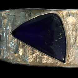 Tufa-Cast-Bracelet-Set-with-Lapis-Detail