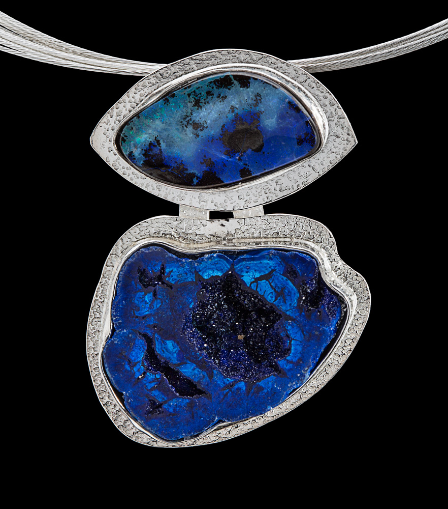 Blue on Blue by Suzanne Brown Jewelry